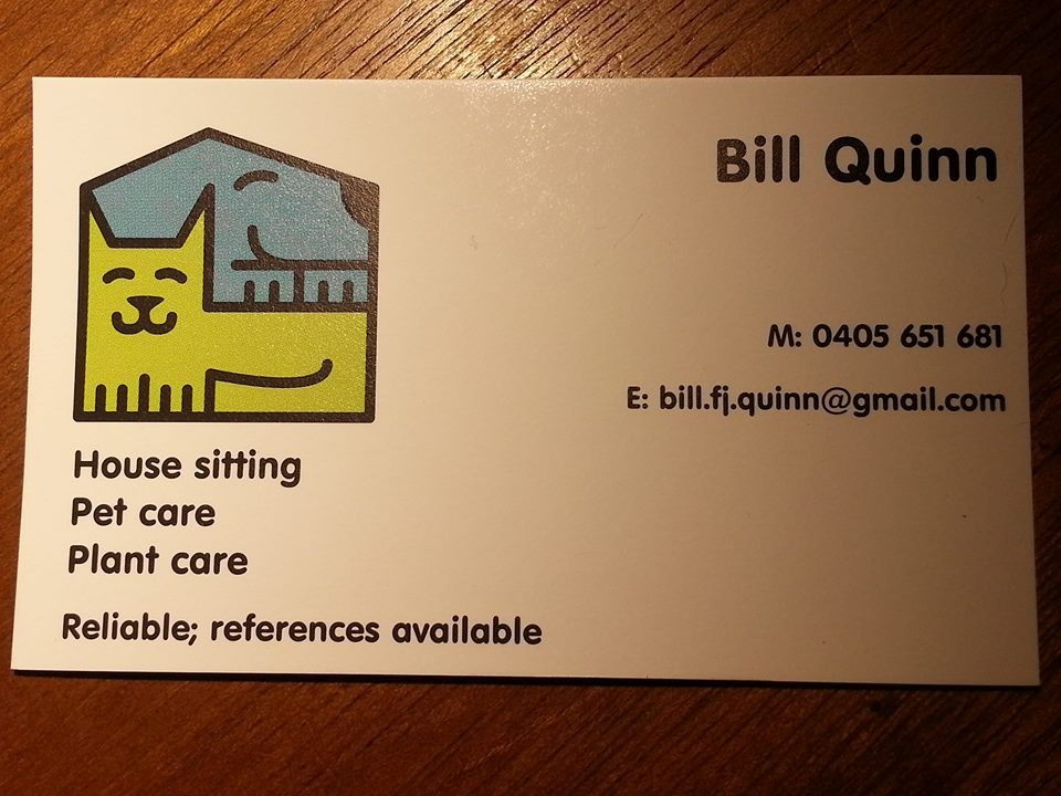 Bill The Housesitter